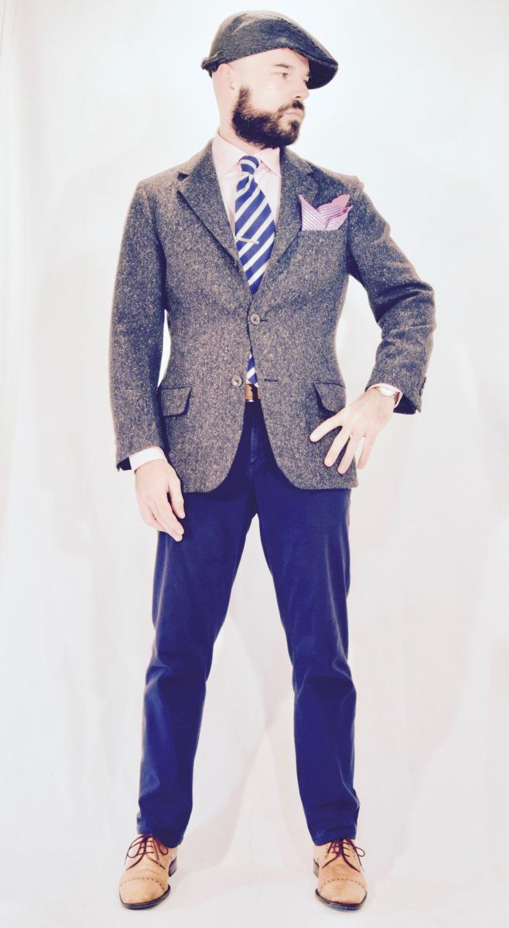 spezzato, Italian, necktie, menswear, wrangler, tombolini,
