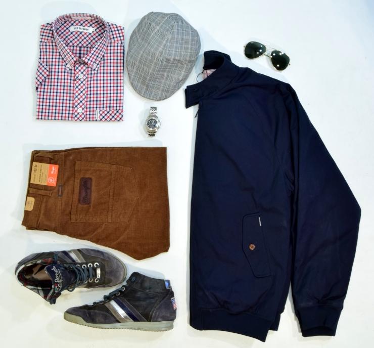 grid, style, flatlay, wrangler, wexford, sneakers, hat, rayban, festina, wrangler