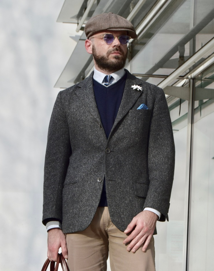 mensclothing, jacket, italianstyle, styletips, styleguru, fashionblogger, hat, sunglasses, levis, fashion, style, beard, neckties, cravatta, kravatten, lazos, shirt, dockers, model,