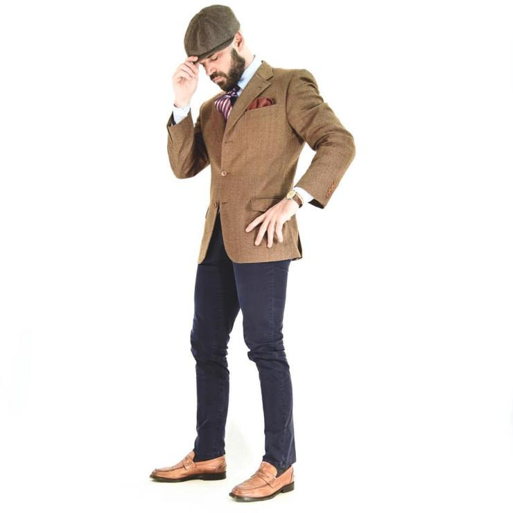 jacket, tombolini, tweed, 40, menstyleadvice, pocket square,