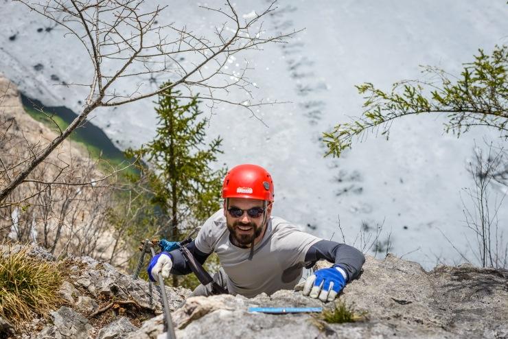 klettersteig, viaferrata, rayban, climbing, hiking, vacation
