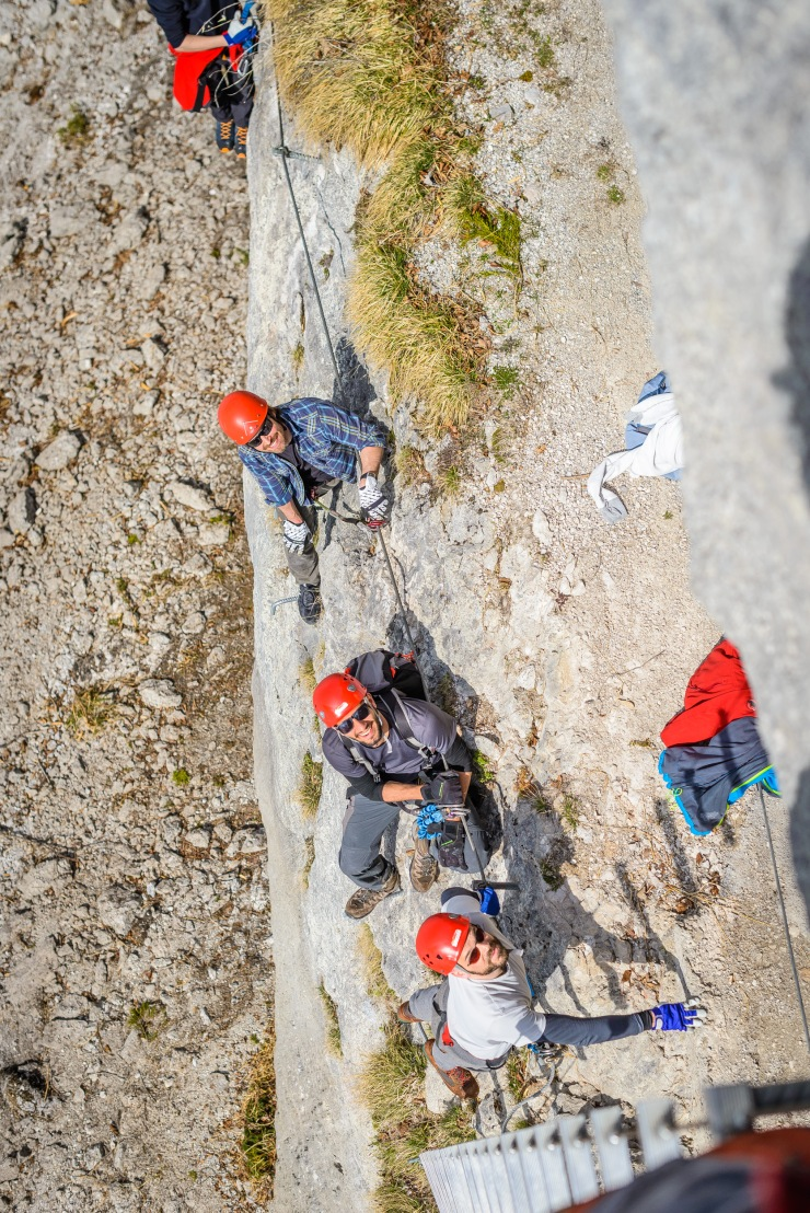mountaineering, klettersteig, viaferrata, climbing,