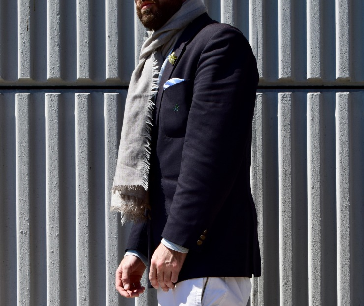 mensclothing, styletipds, styleguru, blazers, scarves, pocket square, beardedblogger,